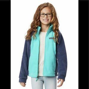 Columbia Youth Girls Benton Springs Fleece Jacket